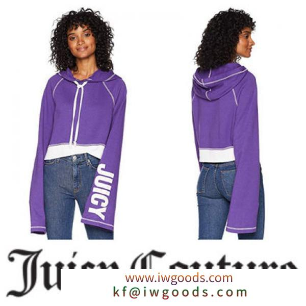 【Juicy COUTURE ブランドコピー】日本未入荷∞Track Fleece Cropped Pullover iwgoods.com:tjfl7y