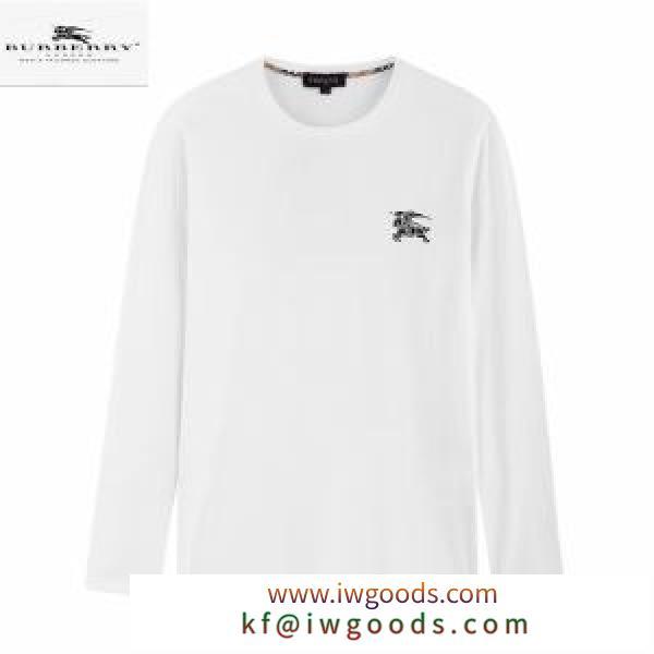 着心地抜群おすすめバーバリー コピー 服 カジュアルな Burberry長袖tシャツコーデサイズ感抜群メンズコットンウェア3色 iwgoods.com D4buaC