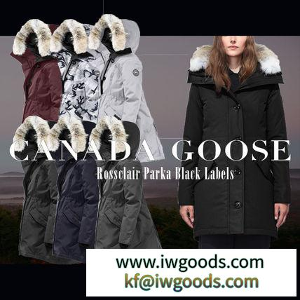 -CANADA Goose 激安スーパーコピー- ダウンパーカー ROSSCLAIR PARKA BLACK LABEL- iwgoods.com:rm29rk-3