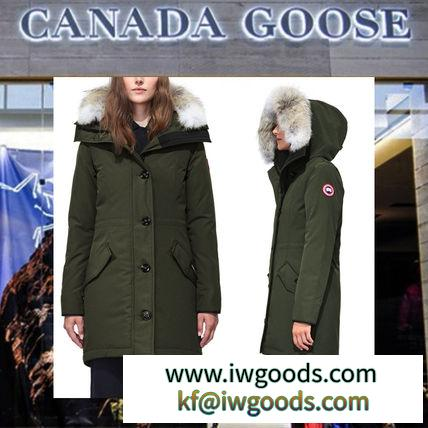 【18AW NEW】 CANADA Goose 激安スーパーコピー_women/Rossclair Parkaダウン/3色 iwgoods.com:nfuof2-3