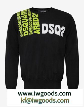 【関税/送料込】【D SQUARED2】Black Logo セーター iwgoods.com:ooo834-3