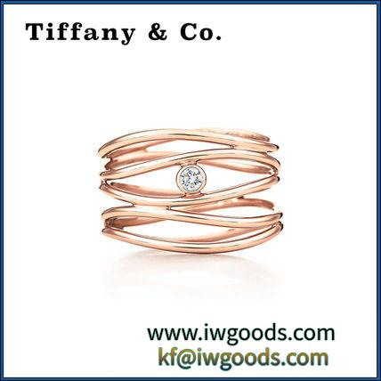 【コピー品 Tiffany & Co.】人気 Wave Five-row Diamond Ring リング★ iwgoods.com:fkaln9-3
