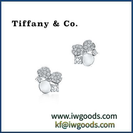 【激安スーパーコピー Tiffany & Co.】人気Diamond Cluster Earrings ピアス★ iwgoods.com:99dvbn-3