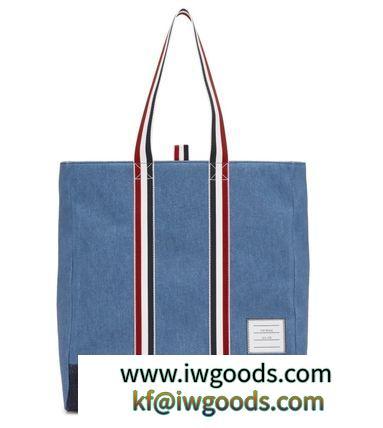 THOM BROWNE コピー商品 通販 18AW 3ラインストライプ ショッパー/トートバック iwgoods.com:de6uhj-3