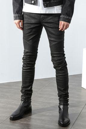 【関税負担】 BALMAIN ブランドコピー商品 16AW BIKER JEANS BLACK iwgoods.com:z0ei3k-3