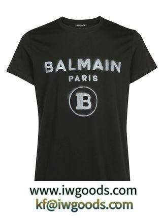 BALMAIN ブランド コピー ポロシャツ ブラック系 iwgoods.com:wobvwr-3