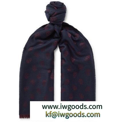 【関税/送料込】【alexander mcqueen 激安スーパーコピー】Wool And Silk スカーフ iwgoods.com:qgclqr-3