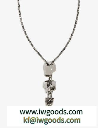 【関税/送料込】【alexander mcqueen 偽ブランド】Skull ネックレス iwgoods.com:4rq9c4-3
