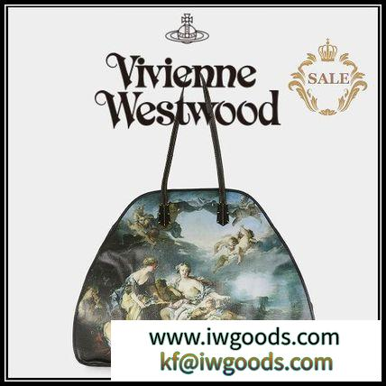 【新作SALE】Vivienne WESTWOOD スーパーコピー◆EUROPA 絵画ハンドバッグ iwgoods.com:hu5plg-3