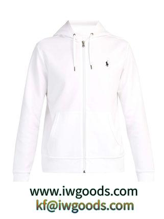 POLO  ロゴエンブロイダリー ジップスルー フースウェットシャツ iwgoods.com:6cm2yl-3
