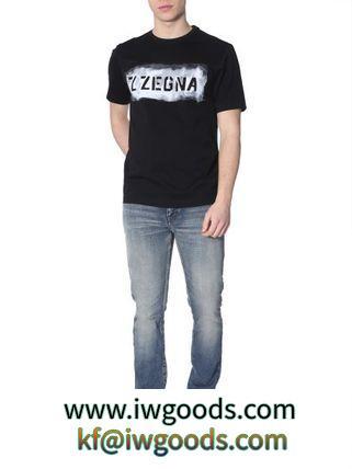 【Z Zegna スーパーコピー 代引】SS2019 ロゴラウンドネックTシャツ iwgoods.com:3l09lu-3