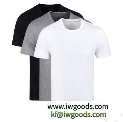 関税込◆HUGOBOSS 激安スーパーコピー 3枚組Tシャツ  グレー/ブラック/ホワイト iwgoods.com:elikf6-3