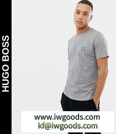 送料込★Hugo BOSS 偽物 ブランド 販売★Tales small logo Tシャツ/grey iwgoods.com:5mhmj9-3