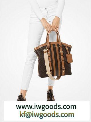 安心国内発送 トートバッグ♪ BedFORD コピー商品 通販 Travel Large Logo Stripe iwgoods.com:w09ajo-3