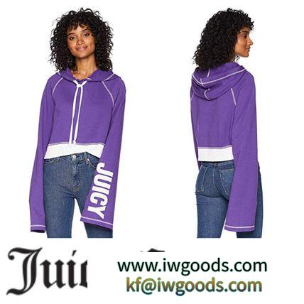 【Juicy COUTURE ブランドコピー】日本未入荷∞Track Fleece Cropped Pullover iwgoods.com:tjfl7y-3