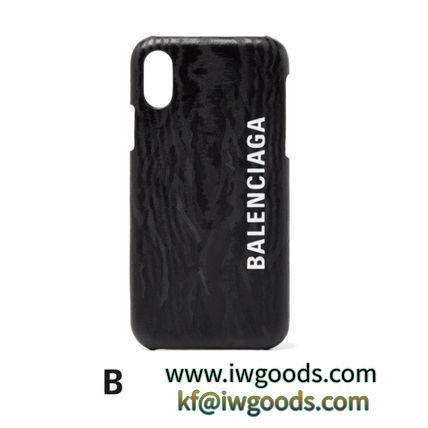 BALENCIAGA ブランドコピー通販 / iPhone X用 スマートフォンケース iwgoods.com:rvkd3j-3