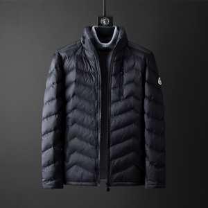 モンクレール 秋冬トレンドをうまく押さえ MONCLER 2色可選 2019秋冬着こなし方おすすめ  メンズ ダウンジャケットおしゃれで機能性の高い iwgoods.com jmSXna-3