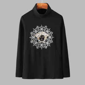 ヴェルサーチ VERSACE 長袖Tシャツ 2色可選 今年注目すべき秋冬ファッション 気になる2019年秋のファッション iwgoods.com u0Tj0b-3