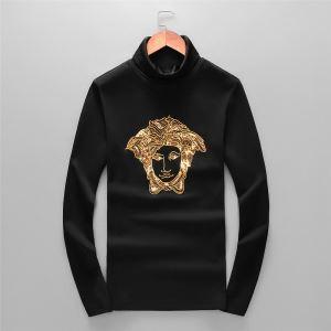 気になる2019年秋のファッション ヴェルサーチ VERSACE 長袖Tシャツ 秋冬から人気継続中 iwgoods.com Ce0LLj-3
