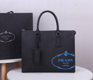 プラダ絶対に見逃せない  PRADA 老舗ブランド ビジネスバッグ 累積売上総額第1位 iwgoods.com K1Xf8n-3