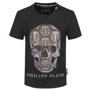 おしゃれ刷新に役立つ 半袖Tシャツ おしゃれな人が持っている フィリッププレイン PHILIPP PLEIN iwgoods.com SPXDSn-3