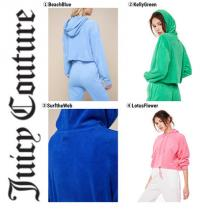 【Juicy COUTURE コピー商品 通販】☆MICROTERRY HOODED PULLOVER iwgoods.com:gbgwgz