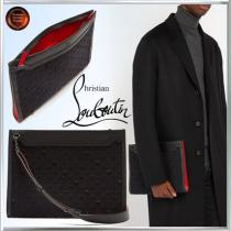 SALE!! ∞Christian Louboutin ブランドコピー通販∞Loubi In The Sky レザーポーチ iwgoods.com:k8vj2a
