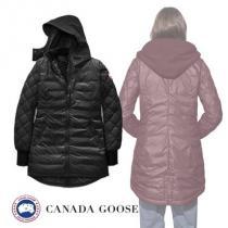 【直営店買付】CANADA Goose ブランドコピー☆STELLARTON COAT コート ブラック iwgoods.com:nngvj1-1