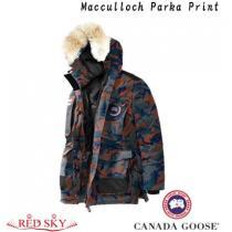 新色☆CANADA Goose 偽ブランド☆Macculloch Parka Print ダウンジャケット iwgoods.com:ekcgl8-1