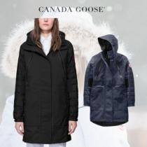 CANADA Goose 激安スーパーコピー Sabine Coat ミドル丈 フーディダウン 2色展開 iwgoods.com:jkwalc-1