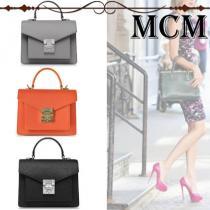 【安心の関税込】MCM ブランドコピー・Patricia Park Avenue Small Satchel Bag iwgoods.com:5w2py7-1
