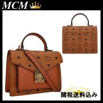MCM ブランドコピー SMALL PATRICIA SATCHEL IN STUDDED iwgoods.com:yf32qb