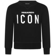 2019AW大人も着れるDSQUARED2 激安スーパーコピー ICONロゴスウェット BK(-16Y) iwgoods.com:qbrvhe