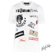 COTTON T-SHIRT WITH PATCHES iwgoods.com:ul...
