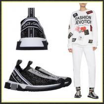 関送込【Dolce & Gabbana 偽物 ブランド 販売】ソレント ラインストーン スニーカー iwgoods.com:ay1klz-1