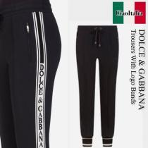 Dolce Gabbana ブランド 偽物 通販 trousers with logo bands iwgoods.com:osp6a4