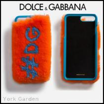 新作★Dolce & Gabbana 激安コピー★ロゴファーiPhone7/8Plusケース/Orange iwgoods.com:m4p5a0