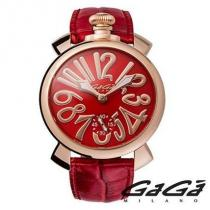 スイス製 ☆GaGa Milano コピー品☆ 腕時計 MANUALE 48MM GOLD PLATED♪ iwgoods.com:o1eays