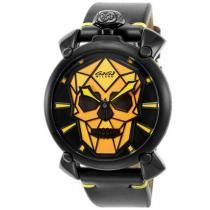 ガガミラノ ブランドコピー 腕時計 MANUALE48MM メンズ ブラック 506201S iwgoods.com:1km2n3-1