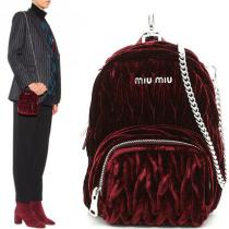 MM055 'MATELASSE' VELVET MICRO BACKPACK iwgoods.com:nd2y7j