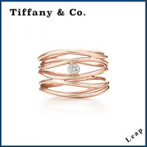 【コピー品 Tiffany & Co.】人気 Wave Five-row Diamond Ring リング★ iwgoods.com:fkaln9-1