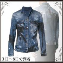 関税込◆distressed denim jacket iwgoods.com:isf3tb