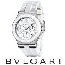 Diamonds ☆BVLGARI ブランドコピー通販☆ DIAGONO Chronograph 37mm 腕時計♪ iwgoods.com:yof1zk-1