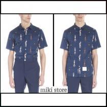 【Thom BROWNE ブランドコピー通販】 printedシャツ iwgoods.com:k4e7ra-1