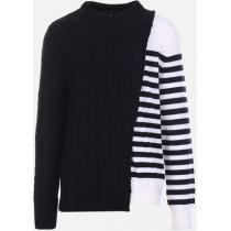 【BALMAIN ブランド コピー】WOOL DESTRUCTURED PULLOVER iwgoods.com:7ri4es
