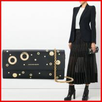 Alexander mcqueen スーパーコピー_Eyelet And Stud Wallet Crossbody☆コピー品☆ iwgoods.com:2vy4lh
