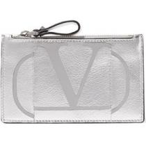 ★関税負担★VALENTINO スーパーコピー 代引★PRINTED METALLIC LEATHER CARDHOLDER iwgoods.com:d0n0iz