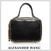 ALEXANDER WANG コピー商品 通販☆Black Leather Halo Large Satche 関税送料込み iwgoods.com:789wkp