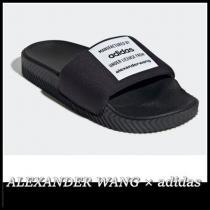 【関税込】コラボ ALEXANDER WANG ブランド コピー × adidas◆Adilette サンダル iwgoods.com:e2utdd-1