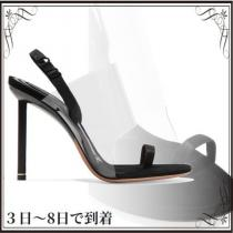 関税込◆Kaia PVC and suede slingback sandals iwgoods.com:cj9qjn